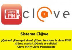 ¿Qué es Sistema Clave PIN? (Cl@ve Pin)
