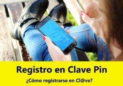 ¿Cómo registrarse en Clave Pin?